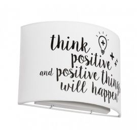 Aplica de perete copii THINK POSITIVE