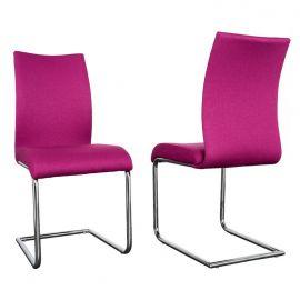 Set de 4 scaune Suave roz