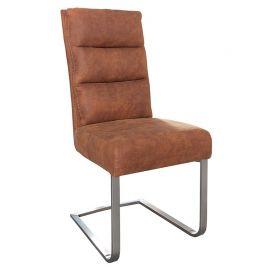 Set de 4 scaune Comfort Vintage maro