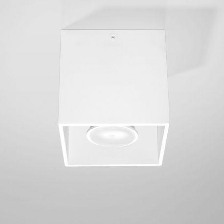 Spot modern aplicat QUAD I alb