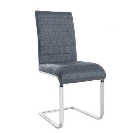Set de 4 scaune Stuart tesatura gri