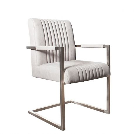 Set de 2 scaune Big Aston gri stone