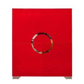 Dulap Zen 120cm rosu