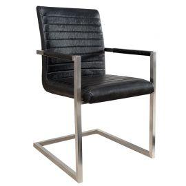 Set de 4 scaune Imperial negru antic