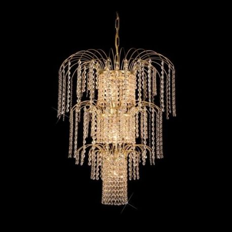 Candelabru cristal Bohemia 53cm