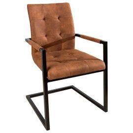 Set de 4 scaune Oxford coniac