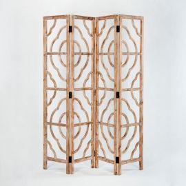 Paravan decorativ din lemn Xiomara