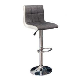 Scaune Bar - Set 2 scaune bar Modena gri