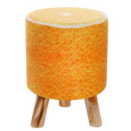 Taburet design portocala Fruits 45cm