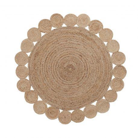 Covor rotund din iuta COSM 150cm