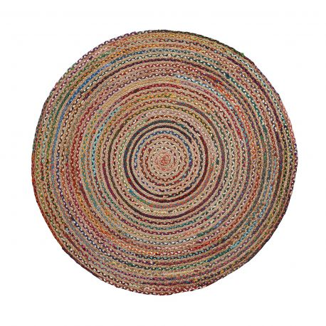 Covor rotund din iuta SAMY 150cm