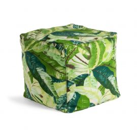 Taburet IN& OUT TROPICAL 45x45cm - Evambient Barcelona Living - Banchete-Tabureti