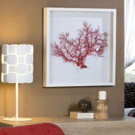 Tablou / Basorelief decoratiuni interioare Coral rosu