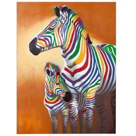 Tablou Zebras 75x100cm