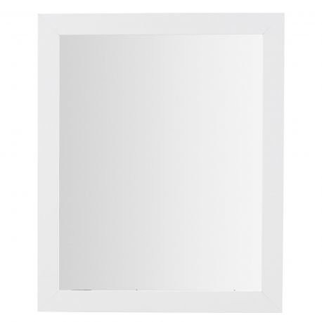 Oglinda moderna JUNKO alb 57x47cm