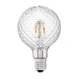 Bec LED decorativ G95 FILAMENT E27 3,5W 2700K - Faro Barcelona - Becuri E27