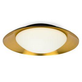 Plafoniera LED moderna SIDE 20W negru/cupru
