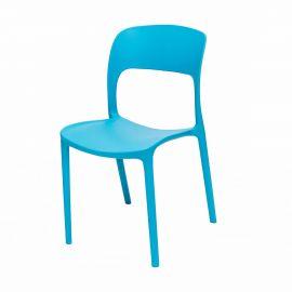 Set de 4 scaune Ufo albastru