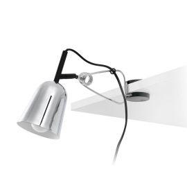Lampa cu clips STUDIO crom