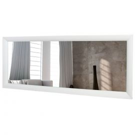 Oglinda decorativa Reflection 150cm alb