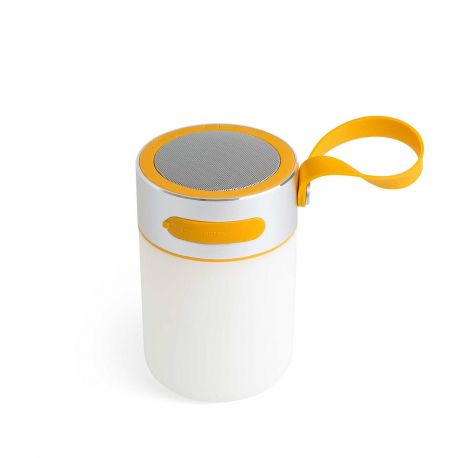 Lampa dimabila LED portabila cu speaker LOUD - Faro Barcelona - Lampi decorative si solare