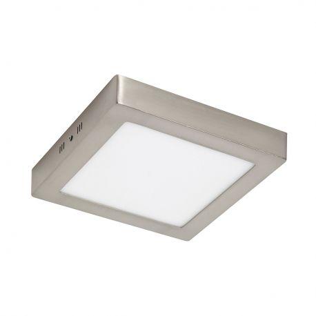 Plafoniera LED baie IP44 PLURIEL II 12W nickel - SULION - Iluminat pentru baie