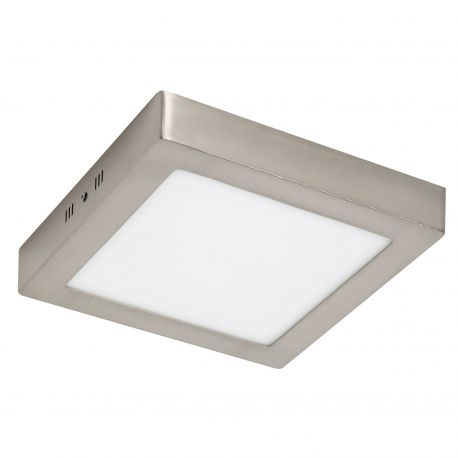 Plafoniera LED baie IP44 PLURIEL II 18W nickel