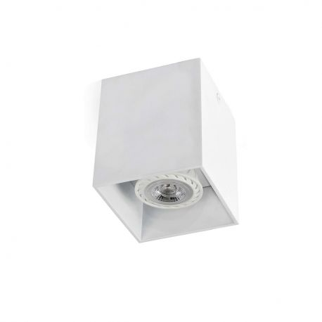 Plafoniera design modern TECTO-1 alba - Faro Barcelona - Plafoniere cu spoturi, Spoturi aplicate
