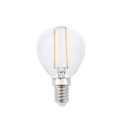 Bec LED decorativ FILAMENT G45 LED 2W 2700K