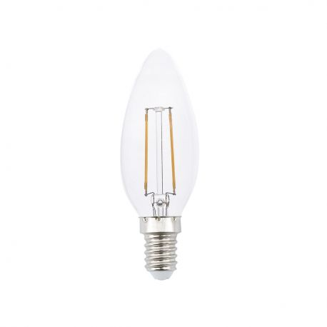 Bec LED decorativ CANDLE FILAMENT E14 LED 2W 2700K