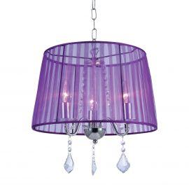 Lustra eleganta HORGANZA violet