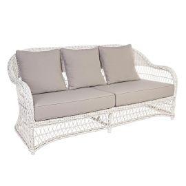 Canapea KOSMOS alb antic