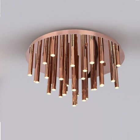 Plafoniera LED ORGANIC COPPER