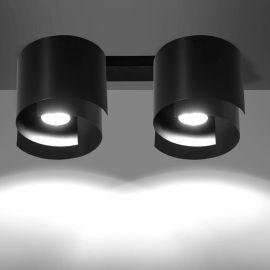 Plafoniera moderna STYLE II negru - Evambient EMB - Plafoniere cu spoturi, Spoturi aplicate
