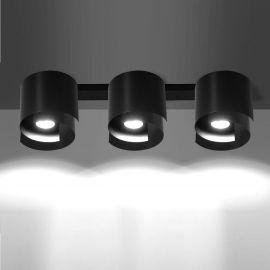 Plafoniera moderna STYLE III negru - Evambient EMB - Plafoniere cu spoturi, Spoturi aplicate