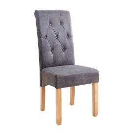 Set de 2 scaune Valentino vintage gri