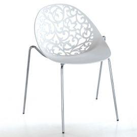Set de 4 scaune EURA crom - Evambient FTP - Seturi scaune, HoReCa