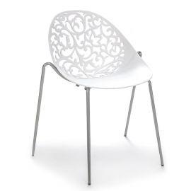 Set de 4 scaune EURA satinat