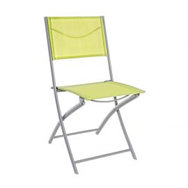 Set de 4 scaune pliante EMILIA verde-lime - Evambient BZ - Scaune