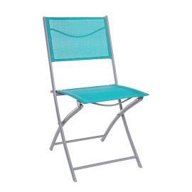 Set de 4 scaune pliante EMILIA turcoaz - Evambient BZ - Scaune