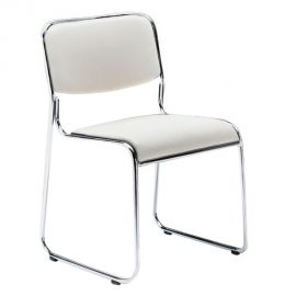 Set de 4 scaune MATCH WHITE