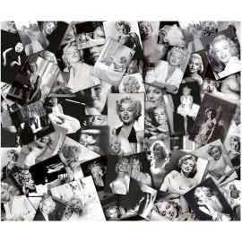 Tablou decorativ MARILYN COLLAGES 100x120 - Evambient FTP - Tablouri