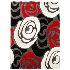 Covor ROSE RED AND BLACK 140x190 - Evambient FTP - Covoare
