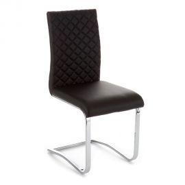 Set de 4 scaune QUILT BLACK