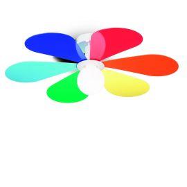 Plafoniera camera copii, FLOWER PL1 D50 COLOR