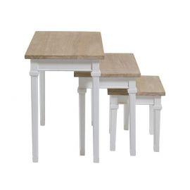 Set de 3 masute design shabby chic Cabo - Evambient SAP - Masute Living