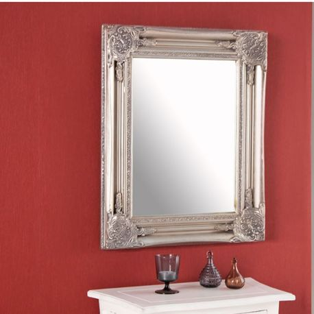 Oglinzi - Oglinda decorativa Speculum argintiu