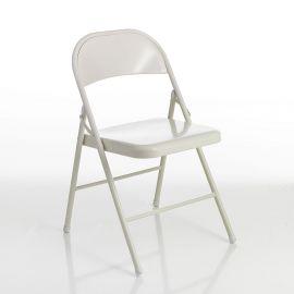 Seturi scaune, HoReCa - Set 4 scaune pliante SEKKA WHITE