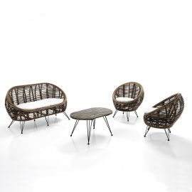 Mobilier terasa - Set complet IN & OUT HUCK