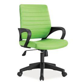 Scaune Birou cu role - Scaun pivotant Q-051 verde